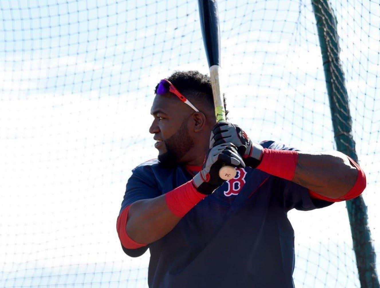 David Ortiz, rebatedor designado do Red Sox