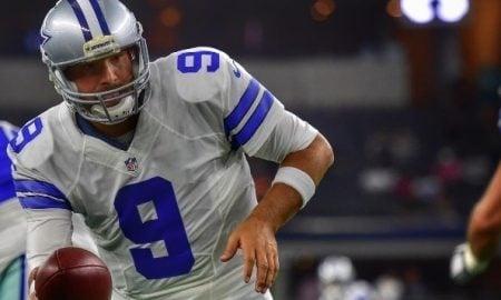 Tony Romo, quarterback do Dallas Cowboys