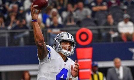 Dak Prescott, quarterback dos Cowboys