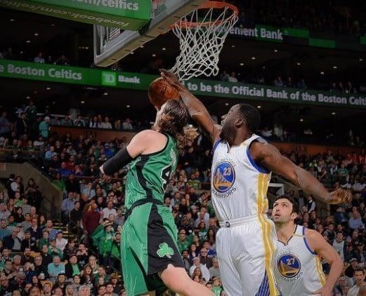 Draymond Green Warriors Celtics