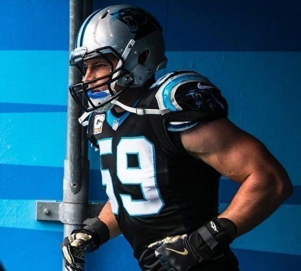 Luke Kuechly, linebacker do Carolina Panthers