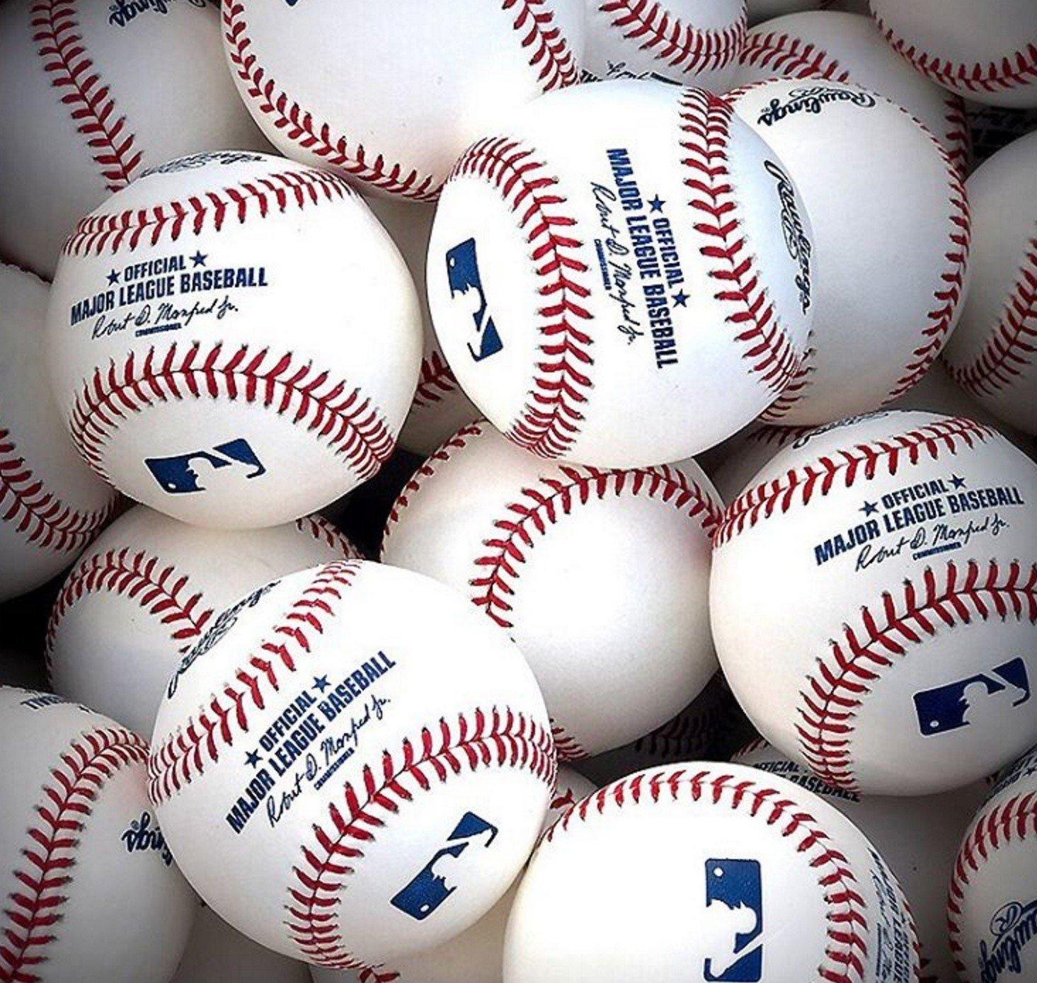 MLB bolas bullpen