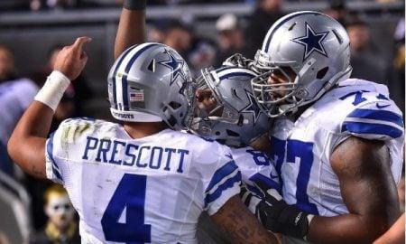 Dak Prescott Dez Bryant Dallas Cowboys