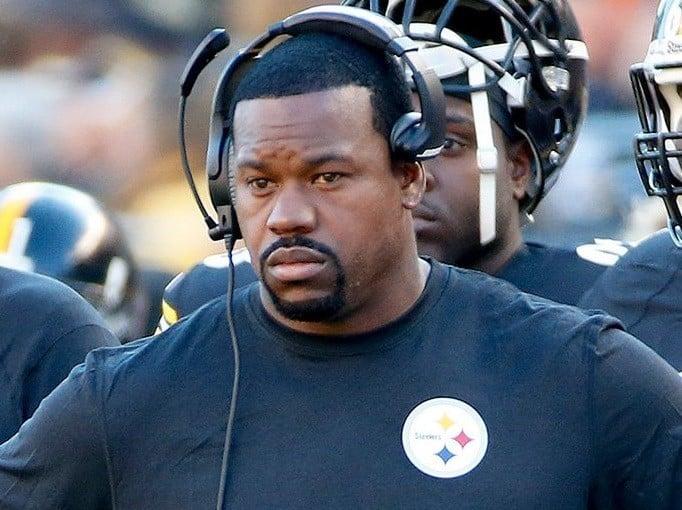 Joey Porter, treinador de linebackers do Pittsburgh Steelers