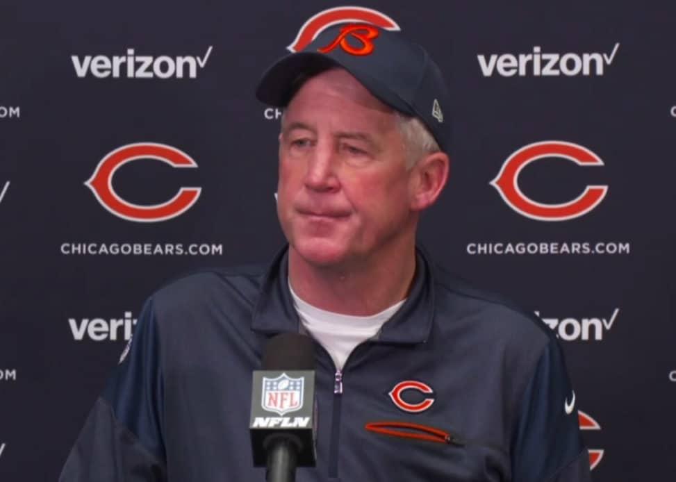 John Fox, treinador dos Bears
