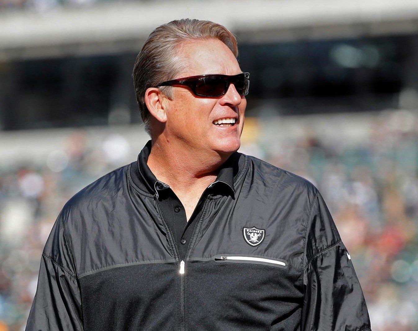 Jack Del Rio, técnico do Oakland Raiders