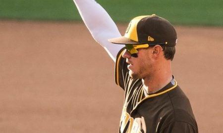 Wil Mayers, primeira base do San Diego Padres