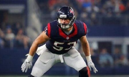 Max Bullough, linebacker do Houston Texans