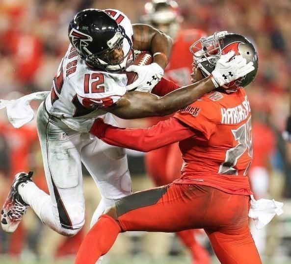 Mohamed Sanu, wide receiver do Atlanta Falcons