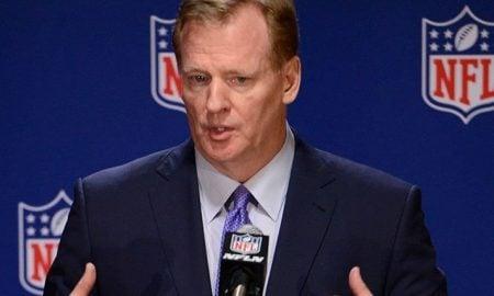Roger Goodell, comissário da NFL