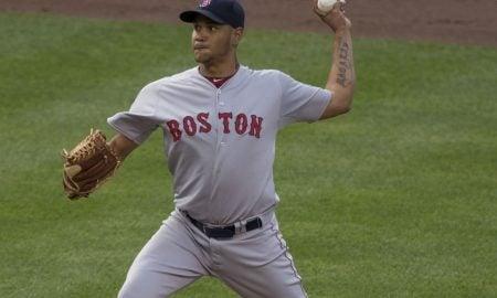Eduardo Rodriguez, arremessador do Boston Red Sox