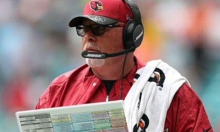 Bruce Arians, técnico do Arizona Cardinals