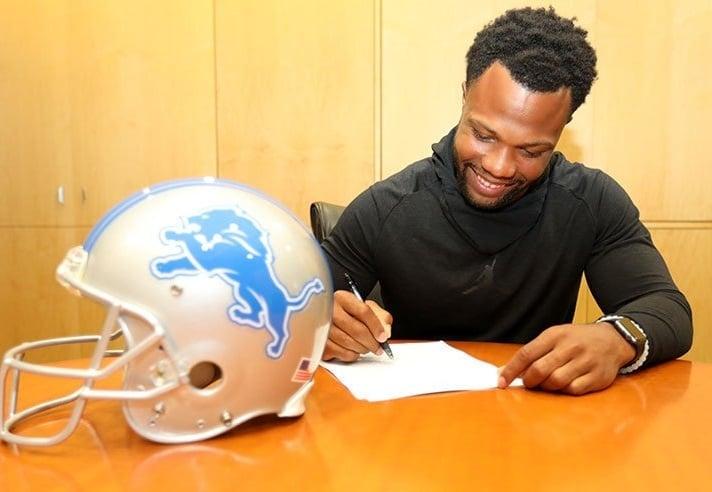 Glover Quin, safety do Detroit Lions