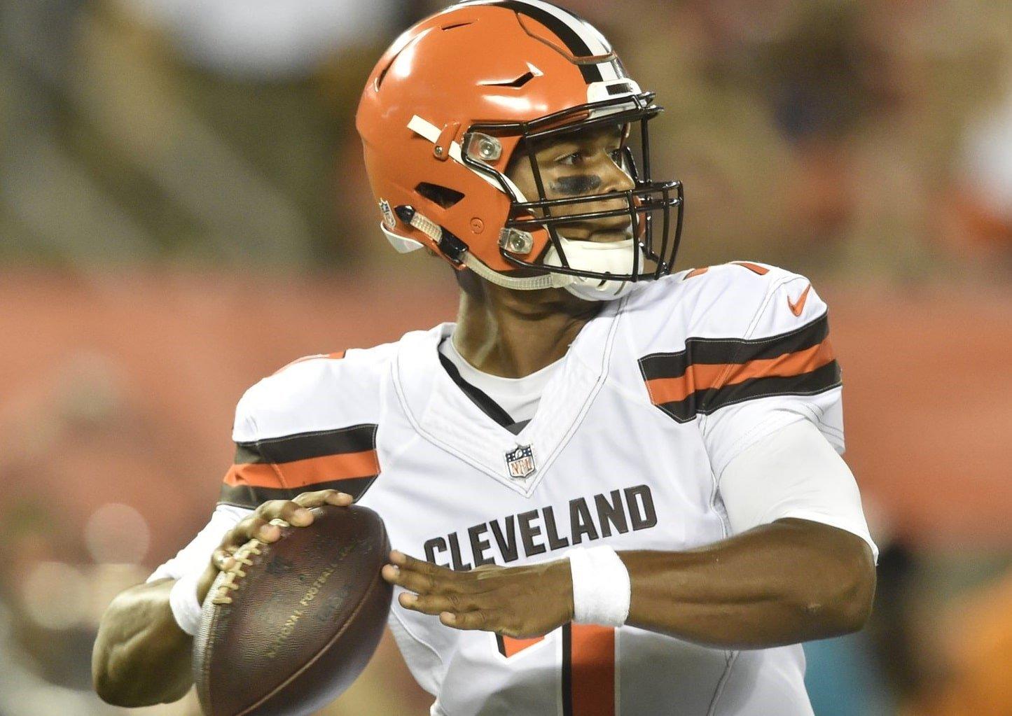 DeShone Kizer, quarterback do Cleveland Browns