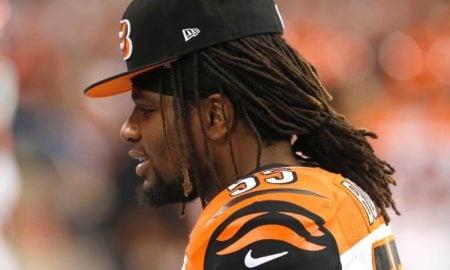 Vontaze Burfict, linebacker do Cincinnati Bengals