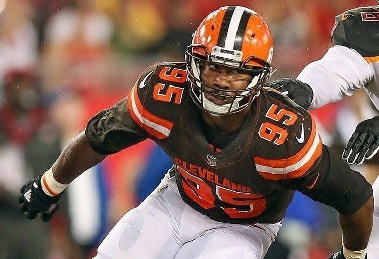 Myles Garrett, defensive end do Cleveland Browns