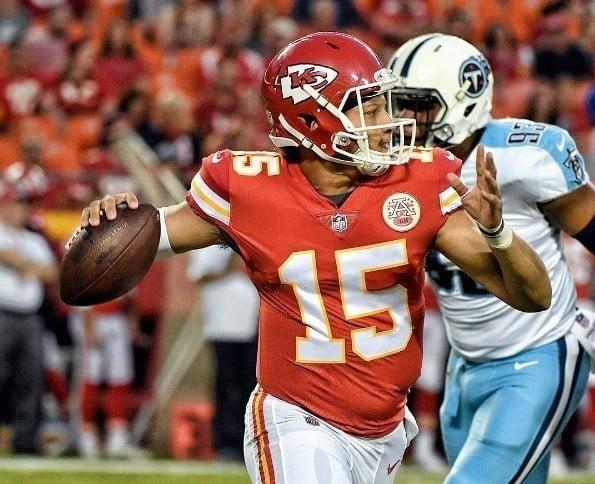 Patrick Mahomes II, quarterback do Kansas City Chiefs