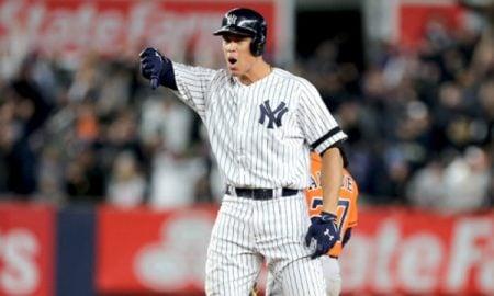 Aaron Judge, defensor externo dos Yankees