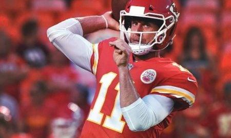 Alex Smith, quarterback do Kansas City Chiefs
