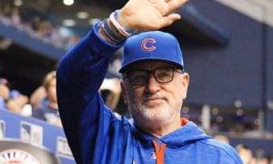Joe Maddon, manager dos Cubs