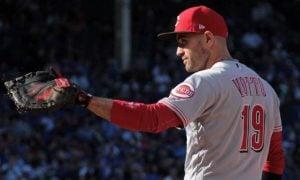 Joey Votto, primeira base do Cincinnati Reds