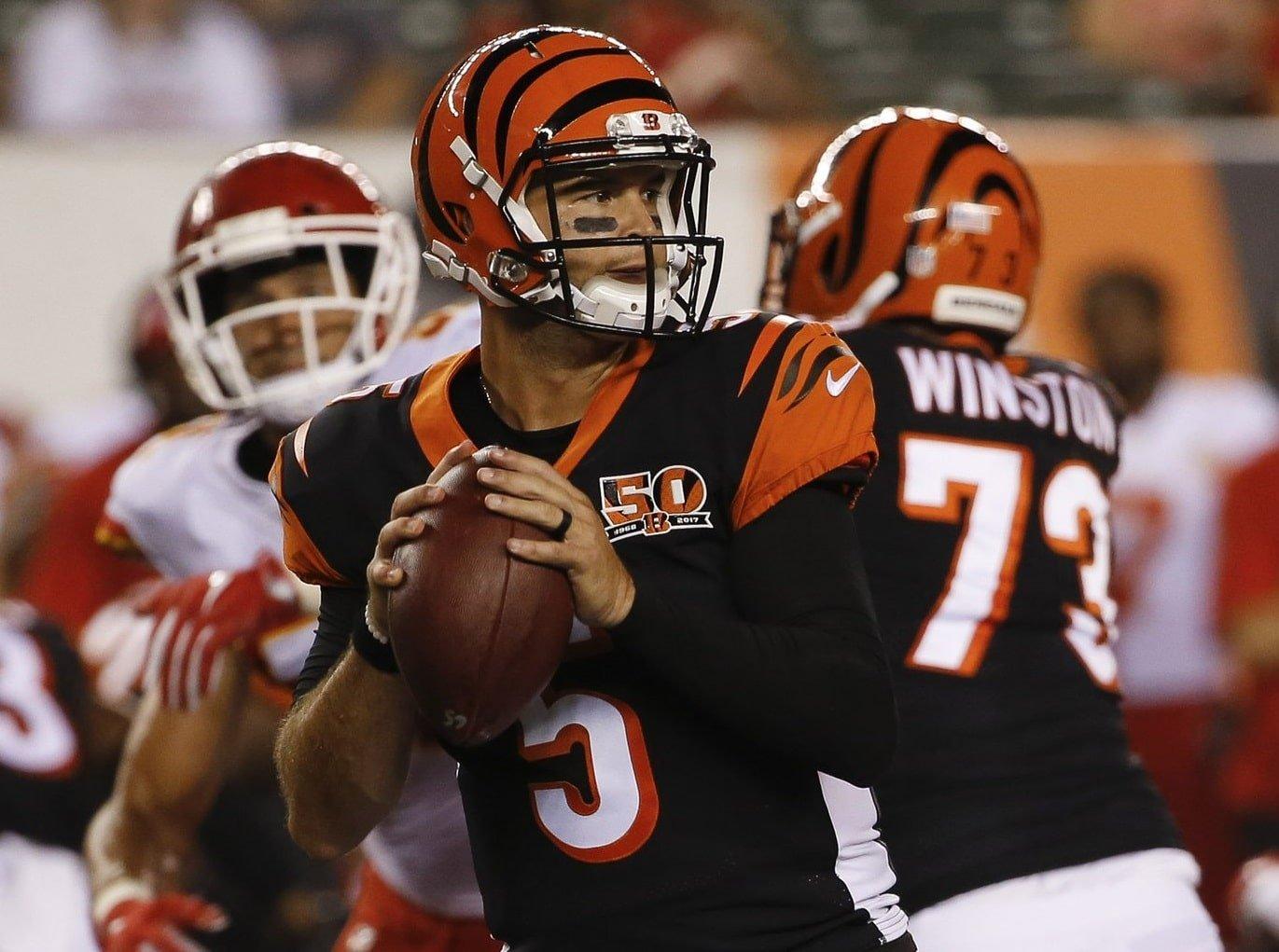 AJ McCarron, quarterback do Cincinnati Bengals