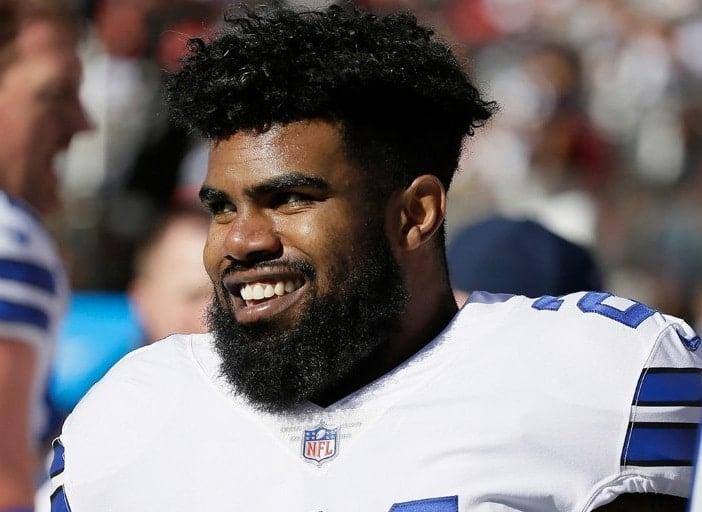Ezekiel Elliott, running back do Dallas Cowboys
