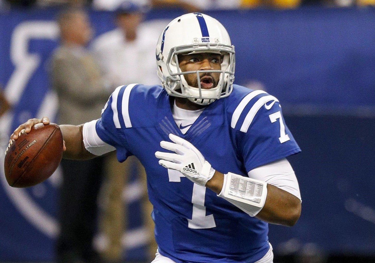 Jacoby Brissett, quarterback do Indianapolis Colts