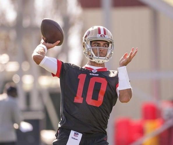 Jimmy Garoppolo, quarterback do San Francisco 49ers