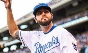 Mike Moustakas, terceira base dos Royals