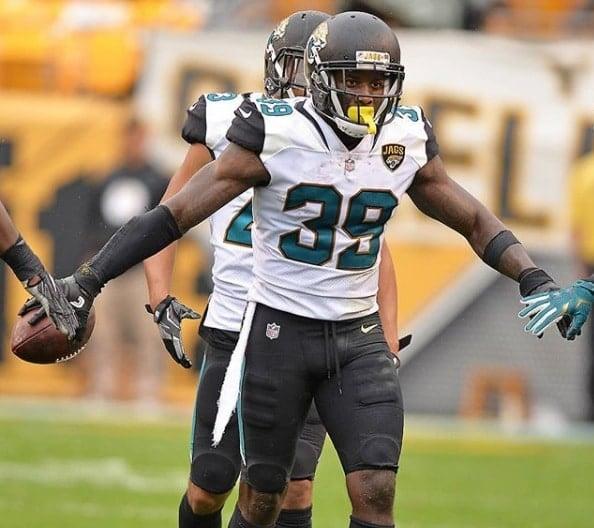 Tashaun Gipson, safety do Jacksonville Jaguars