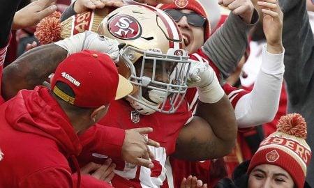 Carlos Hyde, running back do San Francisco 49ers