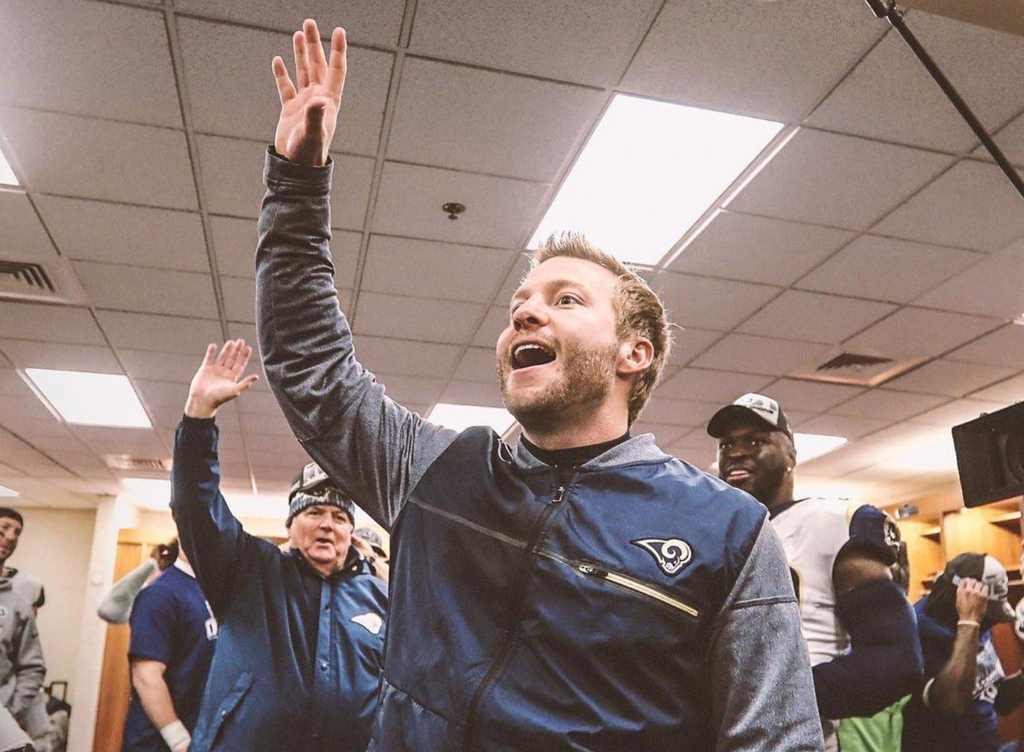 Sean McVay, head coach dos Rams