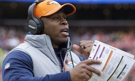 Vance Joseph, técnico do Denver Broncos