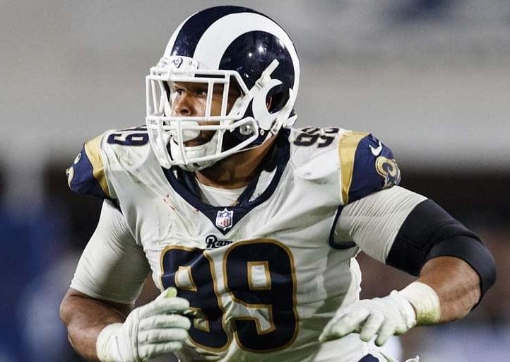 Aaron Donald, defensive tackle do Los Angeles Rams