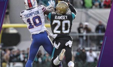 Jalen Ramsey, cornerback do Jacksonville Jaguars
