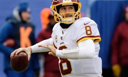Kirk Cousins, quarterback do Washington Redskins