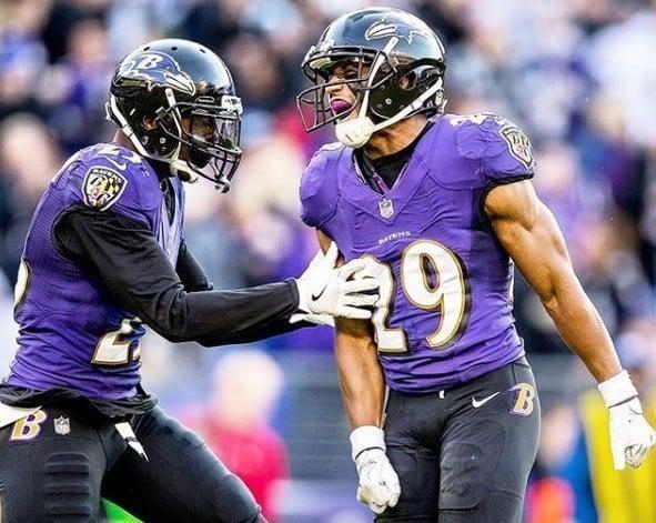 Marlon Humphrey, cornerback calouro do Baltimore Ravens