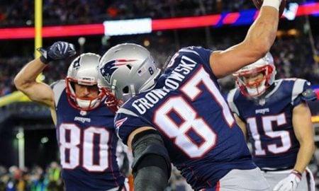 Rob Gronkowski, tight end do New England Patriots