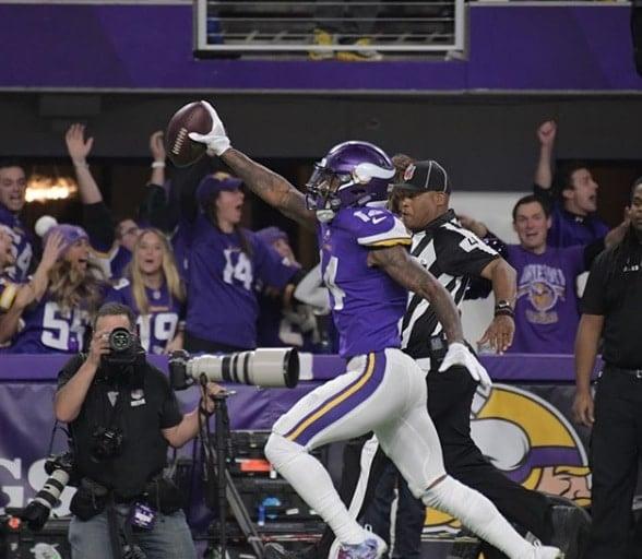 Stefon Diggs, wide receiver do Minnesota Vikings