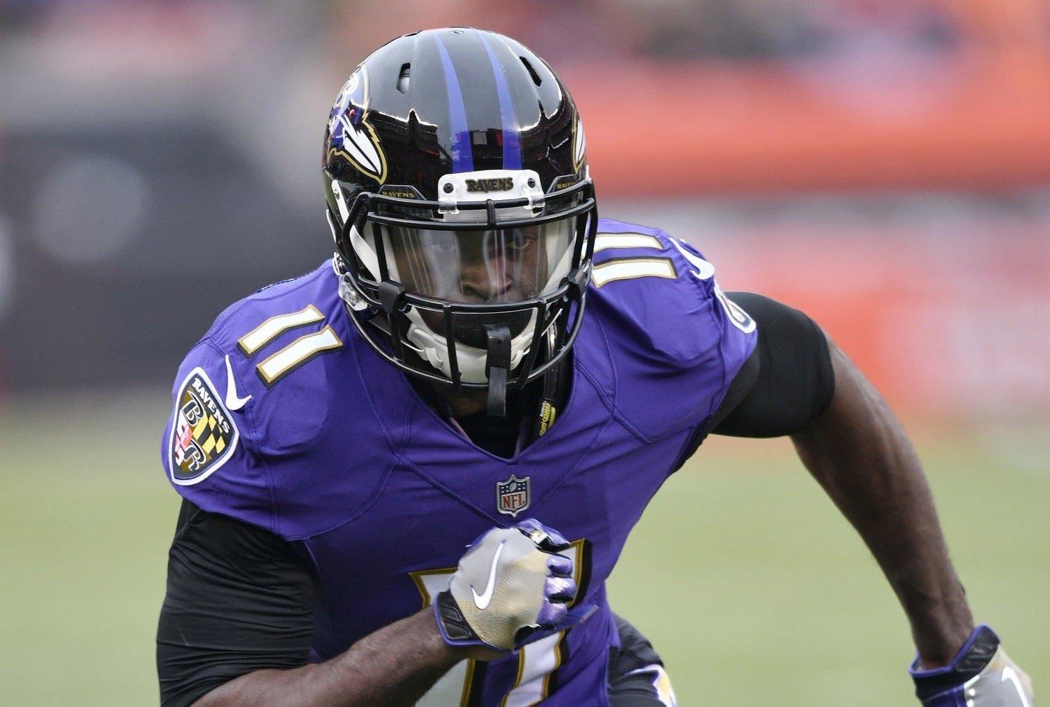Breshad Perriman, wide receiver do Baltimore Ravens