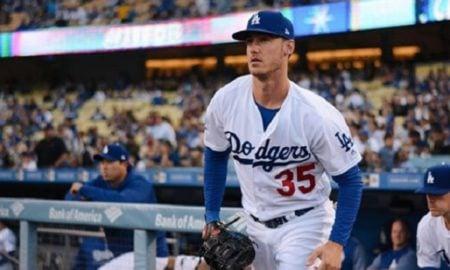 Cody Bellinger, primeira base do Los Angeles Dodgers