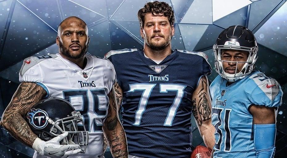 Novos uniformes do Tennessee Titans