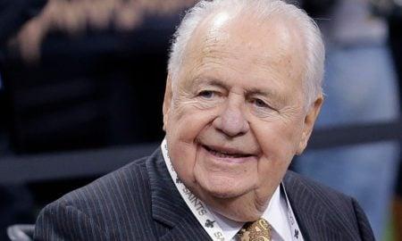 Tom Benson, falecido proprietário do New Orleans Saints