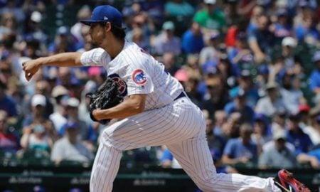 Yu Darvish, arremessador do Chicago Cubs