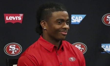 Jerick McKinnon, running back do San Francisco 49ers