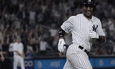 Miguel Andujar, terceira base do New York Yankees