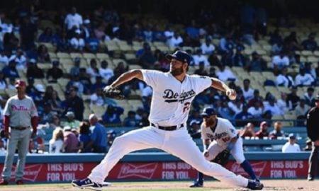 Clayton Kershaw, arremessador do Los Angeles Dodgers