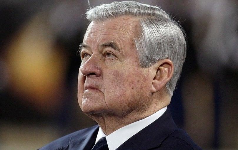 Jerry Richardson, proprietário do Carolina Panthers