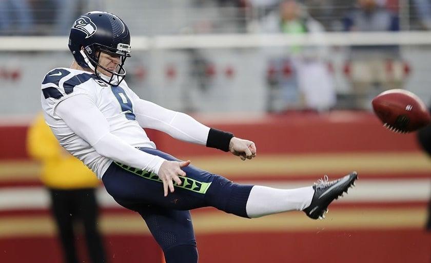 Jon Ryan, punter do Seattle Seahawks